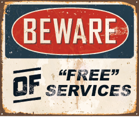 Beware of Free Oracle Services