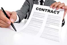 Oracle contract