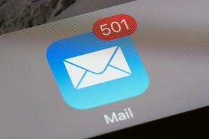 unread email icon