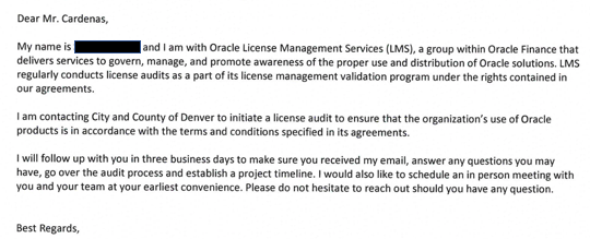 Oracle Using LMS License Audit to Drive Cloud Revenue Palisade