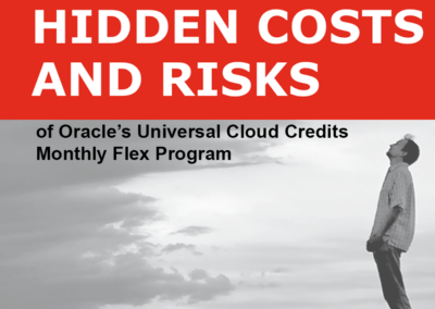 Oracle Universal Cloud Credit White Paper