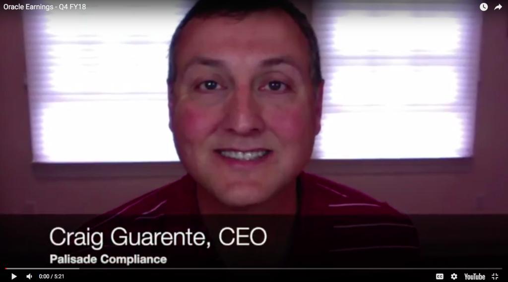 Video: Oracle Earnings Q4 FY18