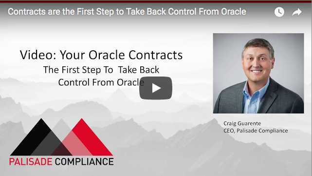 Contracts are the First Step to Take Back Control From Oracle