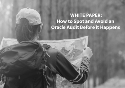 How to Avoid an Oracle Audit Before it Happens