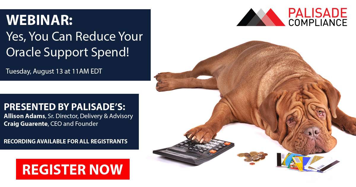 Webinar - How to reduce your Oracle spend