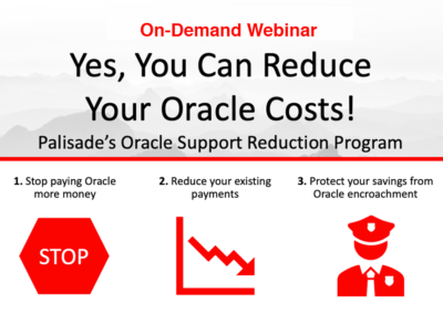 Yes, You Can Reduce Your Oracle Support Spend!