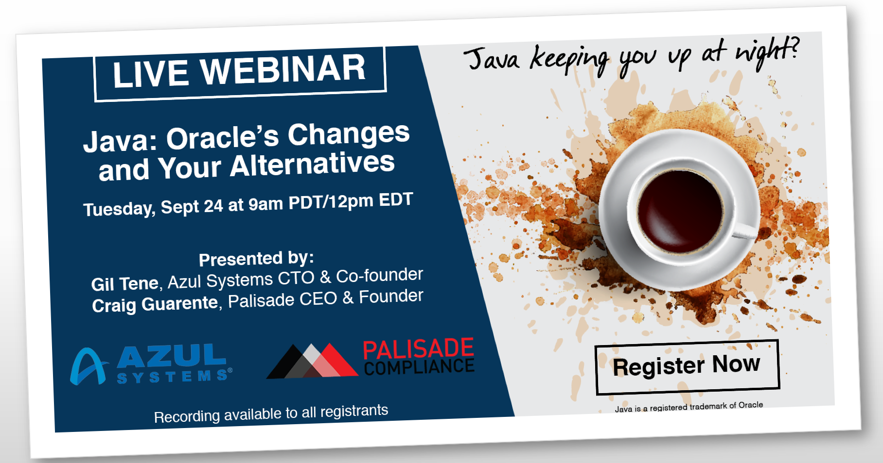 Java Alternatives Webinar