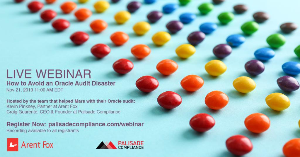 Avoid an Oracle Audit Disaster Webinar