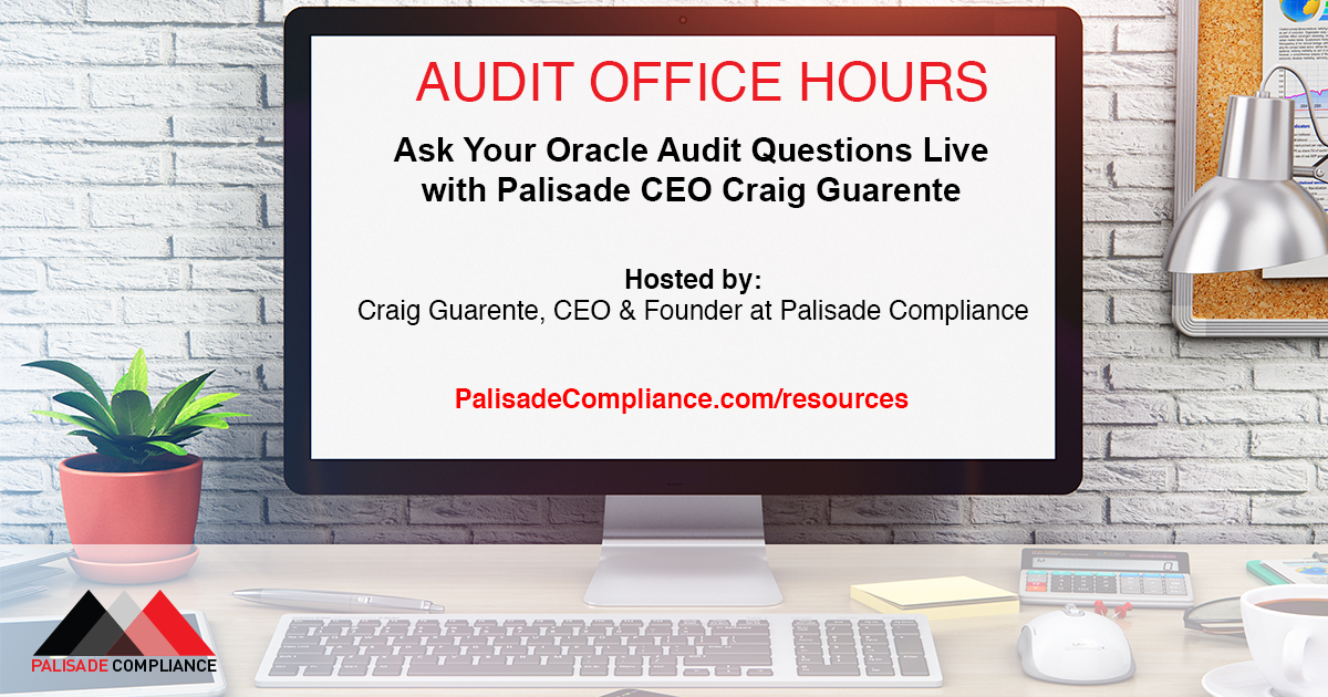 Oracle Audit Office Hours
