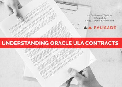 Understanding Oracle ULA Contracts (Webinar)