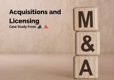 Acquisitions and Licensing Case Study