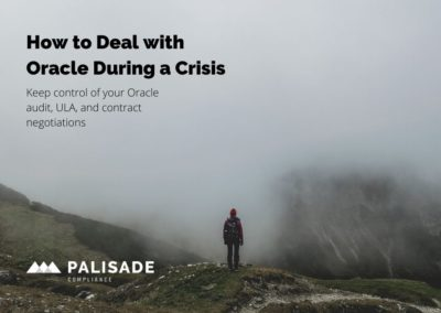 How to Deal with Oracle During a Crisis