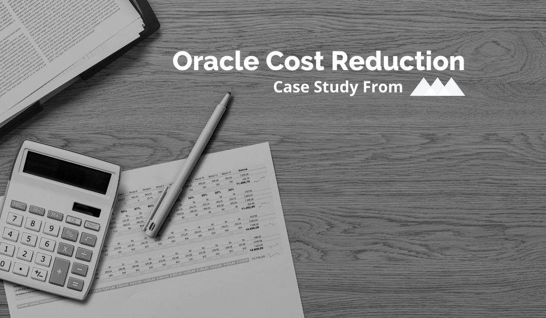 Cost Reduction Case Study