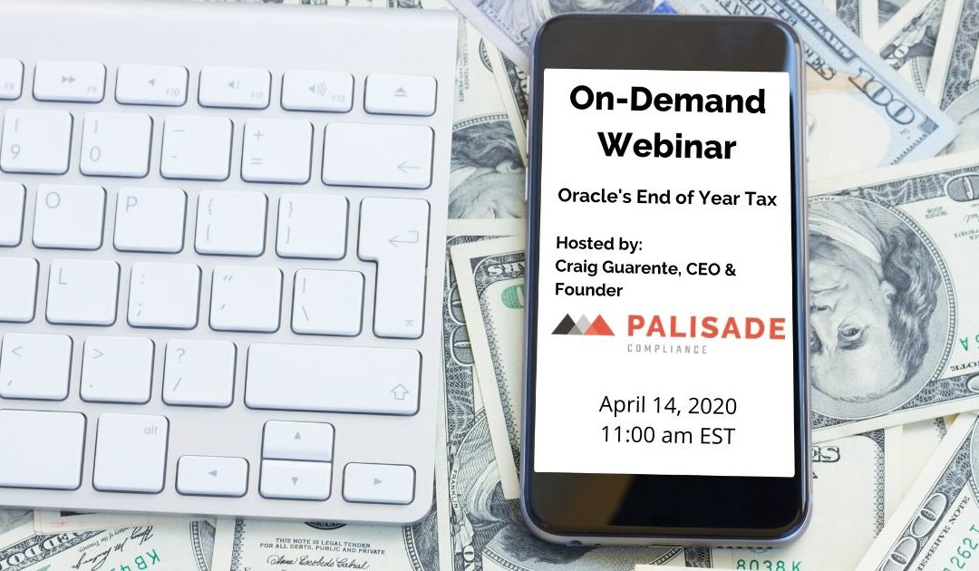 Oracle's End Of Year Tax