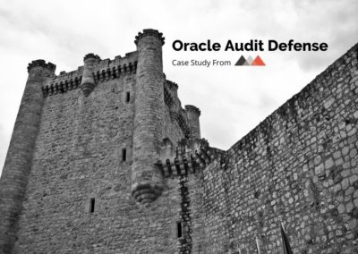 Oracle Audit Defense Case Study