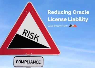 Oracle License Compliance Case Study