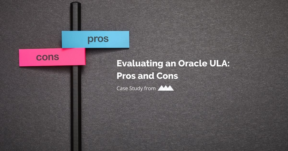 evaluating an oracle ula