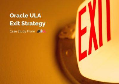 ULA Exit Strategy Case Study
