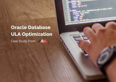 Oracle Database ULA Optimization Case Study