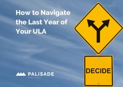 How to Navigate the Last Year of Your Oracle ULA