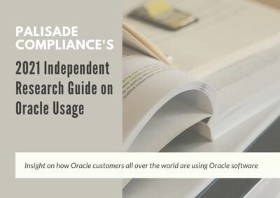Palisade Compliance's 2021 Independent Research Guide on Oracle Usage