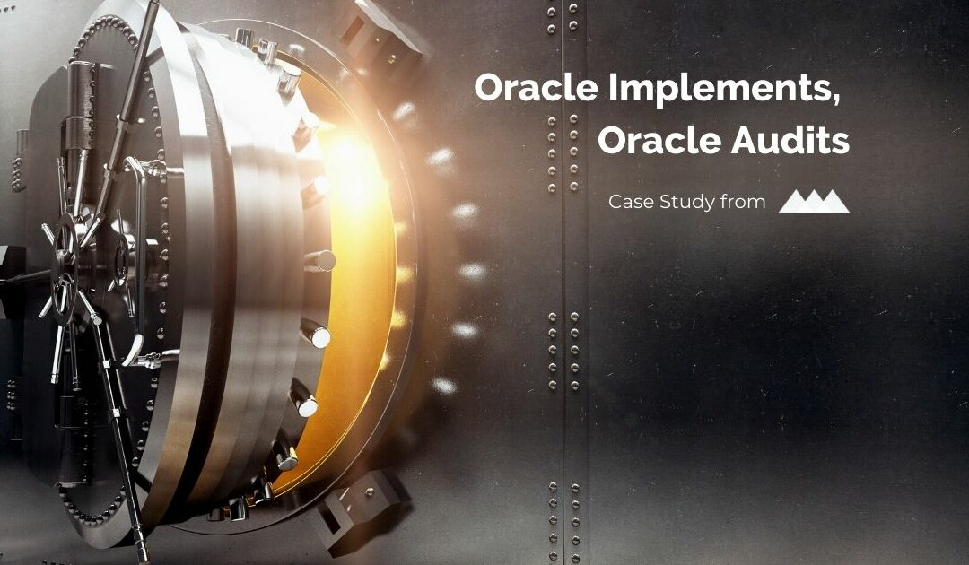 Oracle Implements, Oracle Audits Case Study