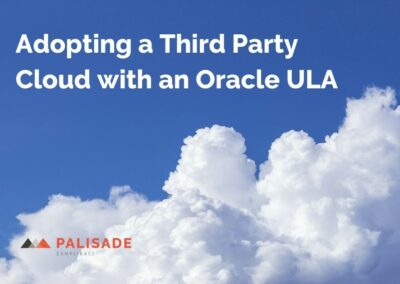 Adopting a Third Party Cloud with an Oracle ULA