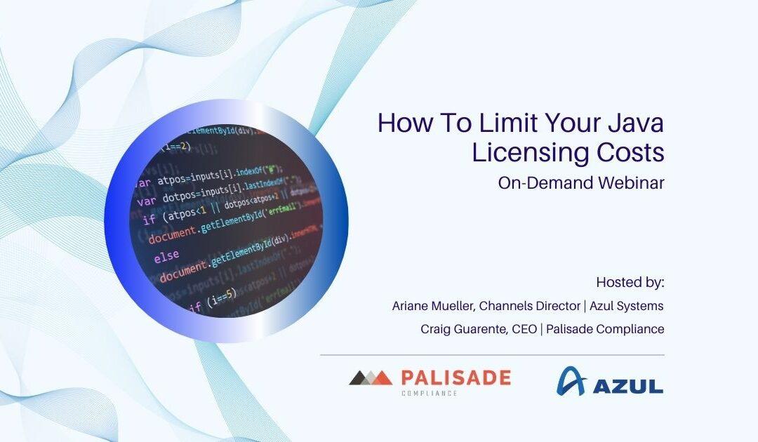 Limit Your Java Licensing Costs (Webinar)