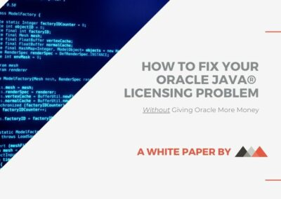 How to Fix Your Oracle Java Licensing Problem