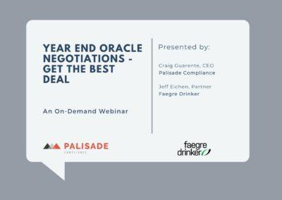 Year End Oracle Negotiations (Webinar)