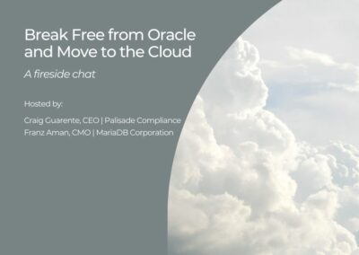 Break Free from Oracle and Move to the Cloud (Webinar)