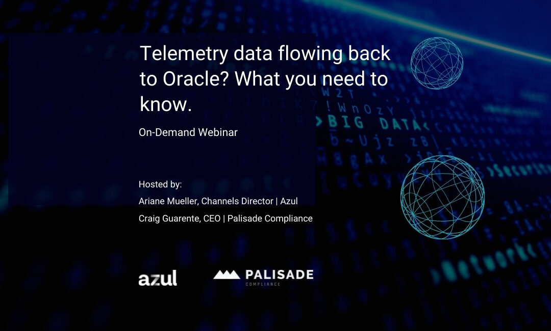 Telemetry Data Flowing to Oracle? What You Need to Know.